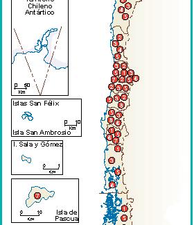 Chile mapa etnico