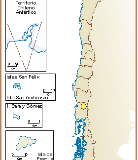 Chile mapa lenguas