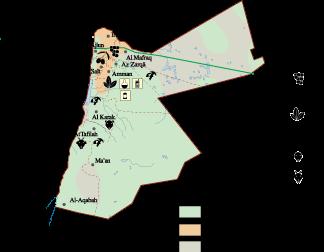 Jordan Economic map