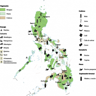 Philippines Economic map