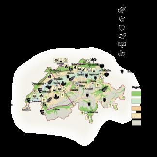 Switzerland Economic map