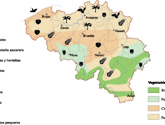 Belgium Land Use map