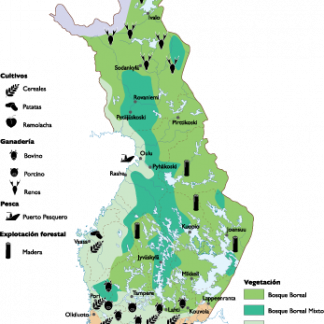 Finland Land Use map