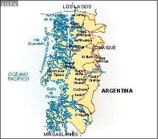 Mapa Aisen
