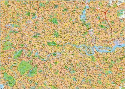 London Vector EPS Area