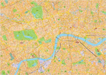 London Vector Streetmap